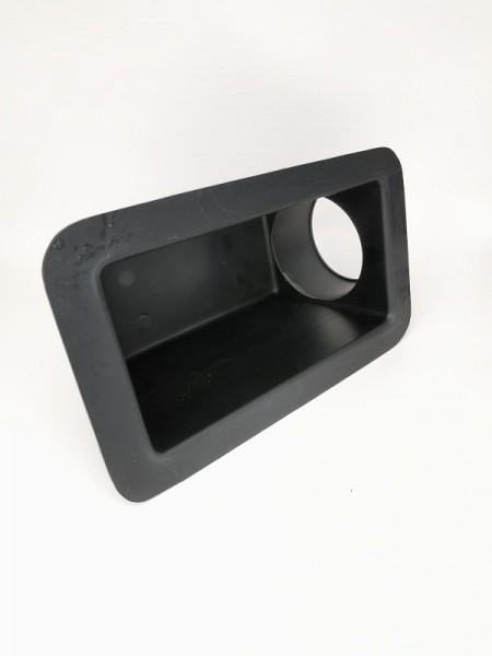 Adapter Box 200x100mm (Einlass seitlich) Ø125mm