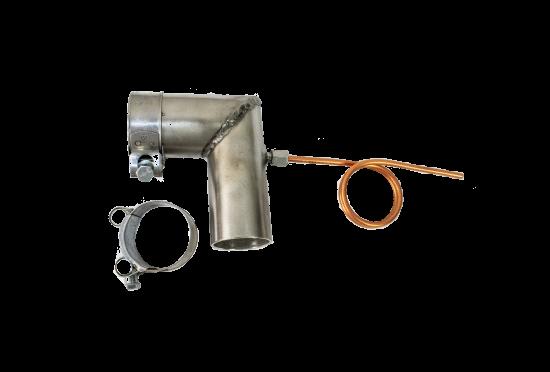 Kondensatabscheider-Set 90° für Ø 38mm Abgasrohr