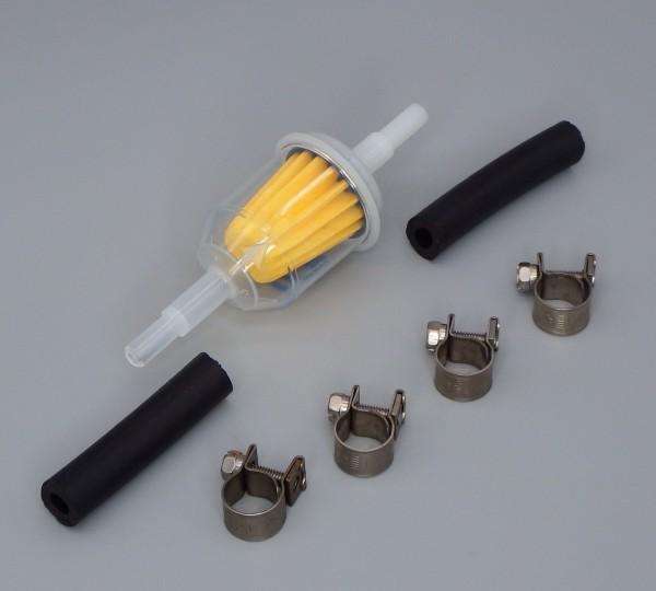 Kraftstoffschlauch Verbinder Set + Kraftstofffilter (2D/ 4D/ 5D)