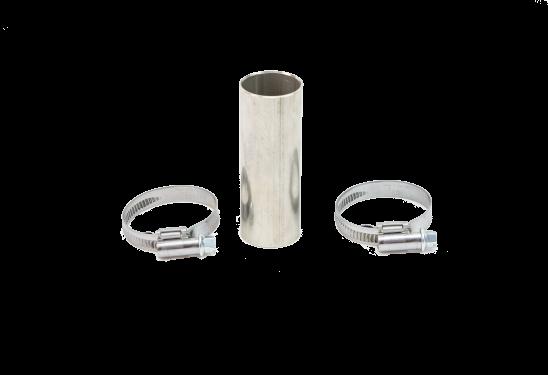 Verbinder-Set, Verbrennungsluft Ø 26mm