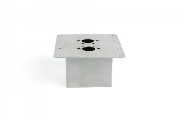 Boden - Montageblech 150x160 80mm 2D/ 4D