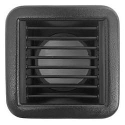 Zuluftgitter Kunststoff schwarz 100x100mm (incl. Adapterbox)