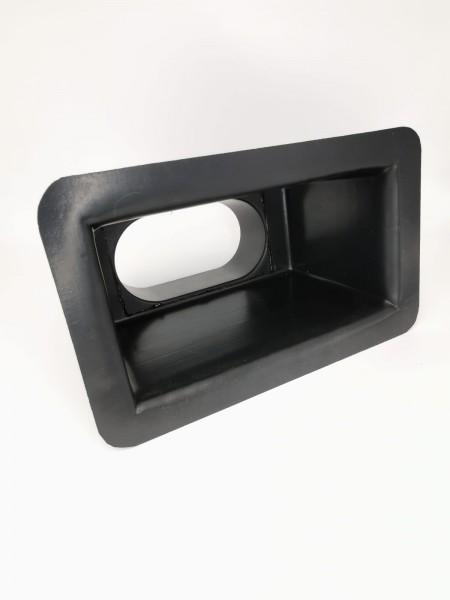 Adapter Box 200x100mm (Einlass hinten) Ø100mm