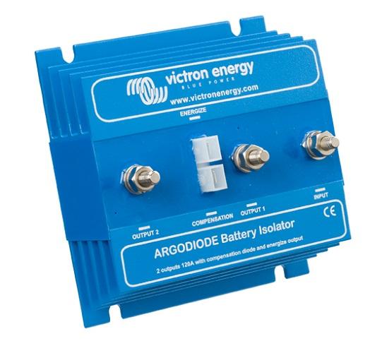 Batterietrenndiode/ Argodiode 120-2AC 2 Batterien 120A